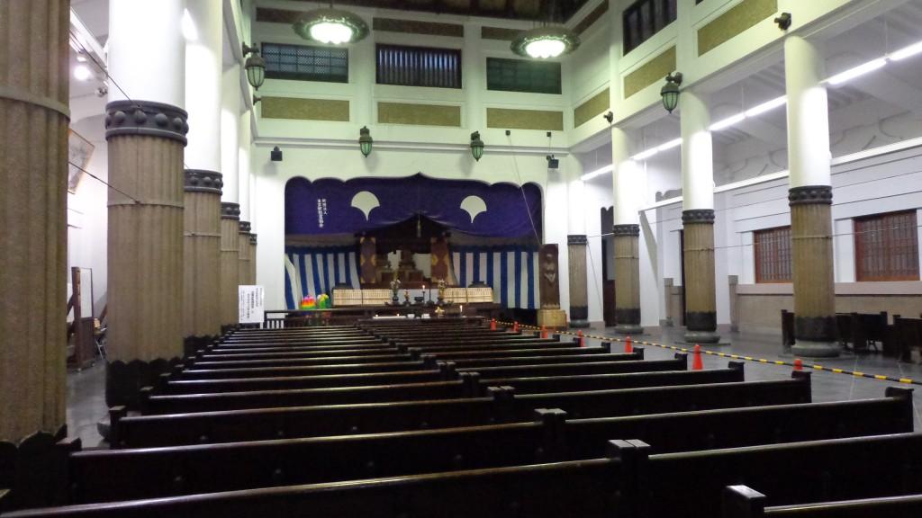 inside of Tokyo memorial hall