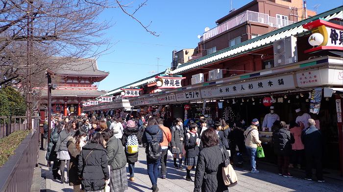 Nakamise street at Senso-ji