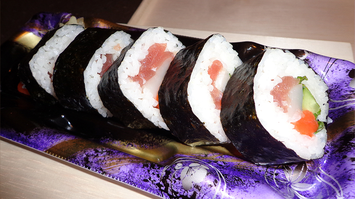 Eho-maki sushi