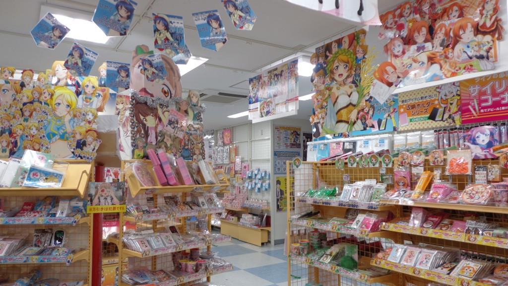 anime shop in Akihabara